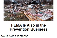 FEMA Is Also in the Prevention Business