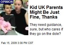Kid UK Parents Might Be Just Fine, Thanks