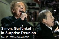 Simon, Garfunkel in Surprise Reunion