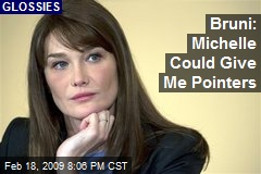 Bruni: Michelle Could Give Me Pointers