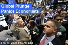 Global Plunge Panics Economists