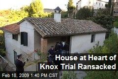House at Heart of Knox Trial Ransacked