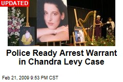 Police Ready Arrest Warrant in Chandra Levy Case