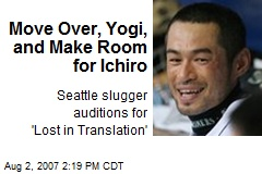 Move Over, Yogi, and Make Room for Ichiro