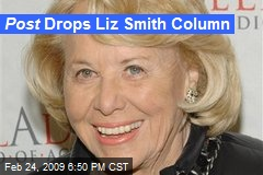 Post Drops Liz Smith Column