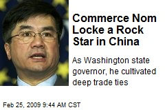 Commerce Nom Locke a Rock Star in China