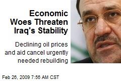 Economic Woes Threaten Iraq's Stability