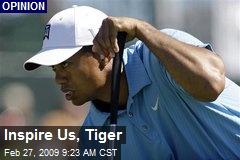 Inspire Us, Tiger