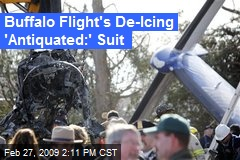 Buffalo Flight's De-Icing 'Antiquated:' Suit