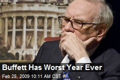 Buffett Has Worst Year Ever