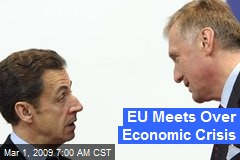 EU Meets Over Economic Crisis