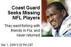 Coast Guard Seeks Missing NFL Players