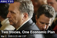 Two Voices, One Economic Plan
