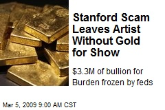 Stanford Scam Leaves Artist Without Gold for Show