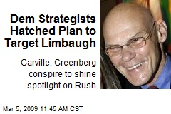 Dem Strategists Hatched Plan to Target Limbaugh