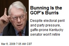 Bunning Is the GOP's Burris