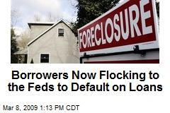 Borrowers Now Flocking to the Feds to Default on Loans