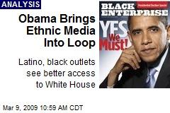 Obama Brings Ethnic Media Into Loop