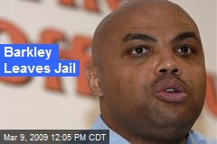 Barkley Leaves Jail