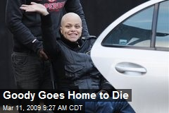 Goody Goes Home to Die