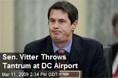 Sen. Vitter Throws Tantrum at DC Airport