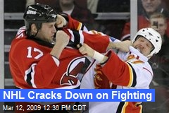 NHL Cracks Down on Fighting