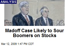 Madoff Case Likely to Sour Boomers on Stocks