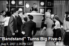 """Bandstand"" Turns Big Five-0"