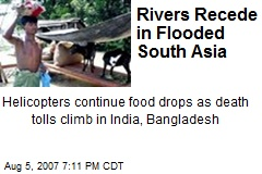 Rivers Recede in Flooded South Asia