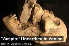 'Vampire' Unearthed in Venice