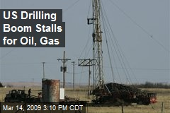 US Drilling Boom Stalls for Oil, Gas