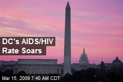 DC's AIDS/HIV Rate Soars