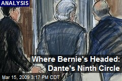 Where Bernie's Headed: Dante's Ninth Circle