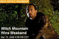 Witch Mountain Wins Weekend