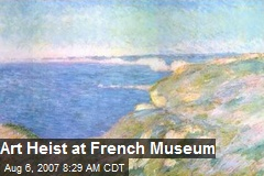 Art Heist at French Museum