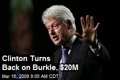 Clinton Turns Back on Burkle, $20M