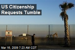US Citizenship Requests Tumble