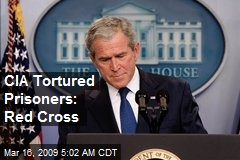 CIA Tortured Prisoners: Red Cross