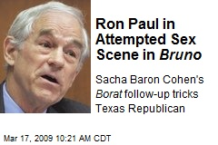 Ron Paul in Attempted Sex Scene in Bruno