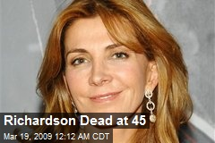 Richardson Dead at 45