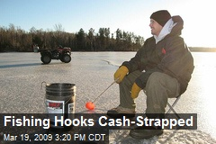 Fishing Hooks Cash-Strapped