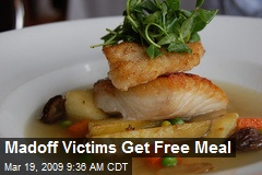 Madoff Victims Get Free Meal