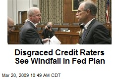 Disgraced Credit Raters See Windfall in Fed Plan