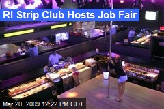 RI Strip Club Hosts Job Fair