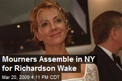 Mourners Assemble in NY for Richardson Wake