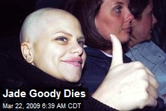 Jade Goody Dies