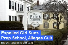 Expelled Girl Sues Prep School, Alleges Cult
