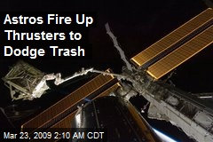 Astros Fire Up Thrusters to Dodge Trash