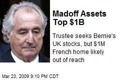 Madoff Assets Top $1B