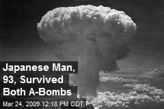 Japanese Man, 93, Survived Both A-Bombs